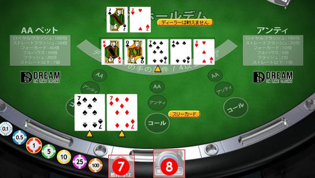 オンラインカジノ、ポーカーの遊び方