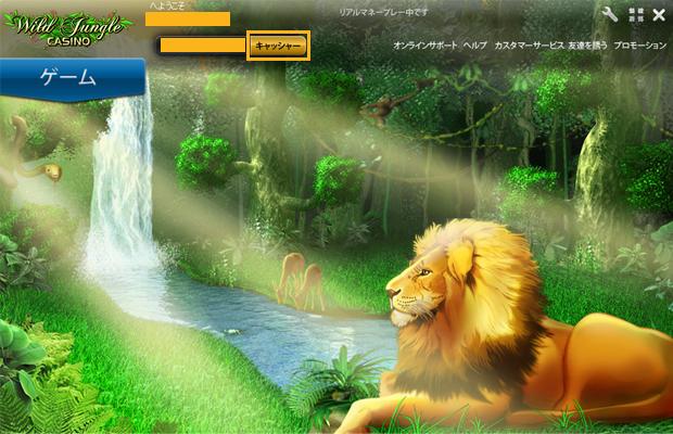 ワイルドジャングル(WildJungle)の出金方法手順